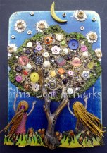 Silvia Logi Artworks - Gioco notturno sotto l'albero dei desideri
