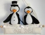 Il Fatto a Mano di Maria Luisa - Pinguini Sposi