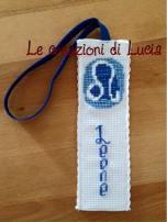 Le crocette colorate di Lucia - Segnalibro Zodiaco Leone